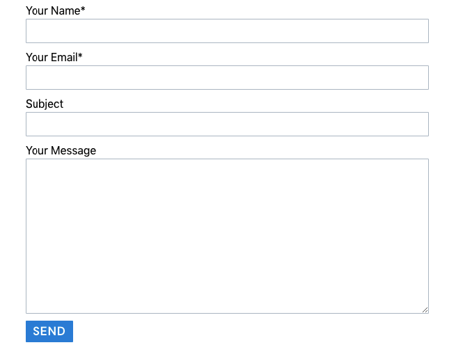 Contact form 7 style templates