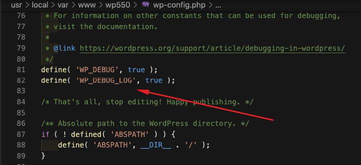 WordPress Debug Log (Wp Debug Log)